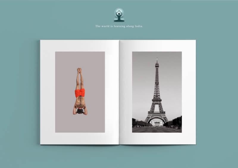 yoga et monument