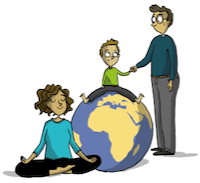 illustration logo ego bienveillance
