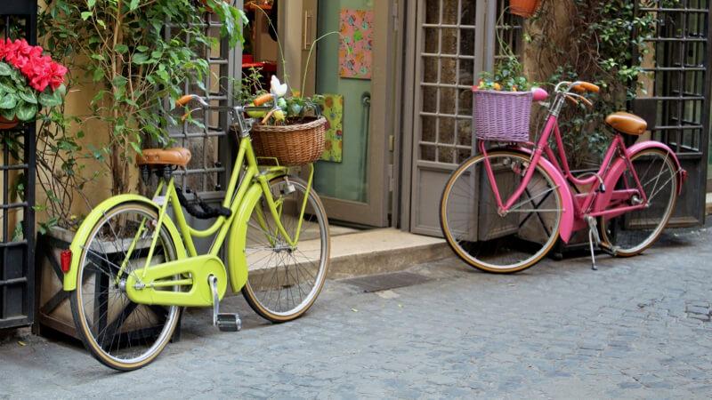 apprendre à lâcher prise en vélo