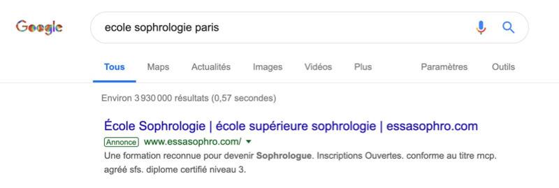 activité de sophrologue sur le web