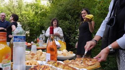 buffet essa pour les stagiaires sophrologues