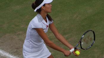 joueuse de tennis de haut niveau