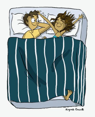 exercices pour bien dormir